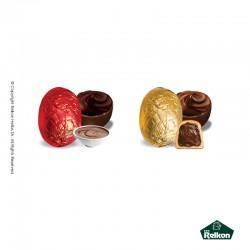 Σοκολατένιο αυγό χρυσό-κόκκινο 1kg