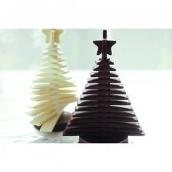 Βάσεις για φόρμα 3D έλατο tree choc & 3D egg choc σετ 2τεμ.