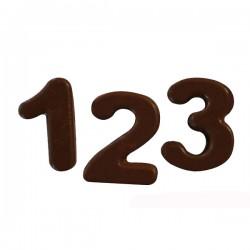 Φόρμα σιλικόνης για αριθμούς 123 choco sf174