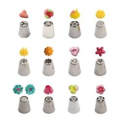 Μύτες κορνέ για λουλούδια 3D σετ 12τεμ.-No2