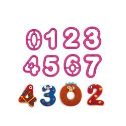 Κουπάτ αριθμοί σετ 9 τεμ.-5,2x2,2εκ.