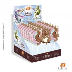 Unicorn σοκολατένια γλειφιτζούρια