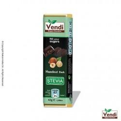 Σοκολάτα υγείας stevia με φουντούκι