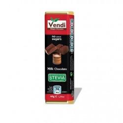 Σοκολάτα γάλακτος stevia