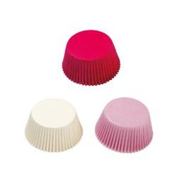 Καραμελόχαρτα λευκά-ροζ-φούξια 75τεμ.