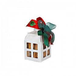 Χάρτινο κουτί λευκό μικρό 10x10x13,5εκ.