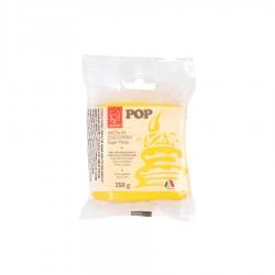 Κίτρινη ζαχαρόπαστα 250gr