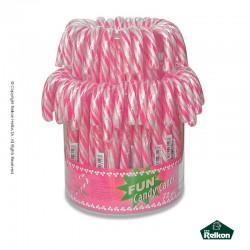 Γλειφιτζούρι μπαστουνάκι ροζ 72τεμ.